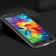 Black Galaxy J7 Pro (2017) Full Body Coverage 360 Degree Protect Case