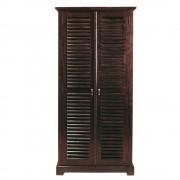 Maisons du Monde Solid mahogany closet W 86cm Planteur