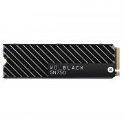 Western Digital WD Black SN750 NVMe 500GB SSD M.2 PCI Express 3.0 com Dissipador Térmico