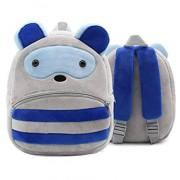N/D Animal Schoolbag Kids Plush Backpack Toy Mini School Bag Niños S Regalos Kindergarten Boy Girl Baby Student Bags Mochila Encantadora 26 * 24Cm