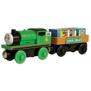 Thomas And Friends Wooden Railway - Percy And the Storybook Car