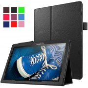 Stand flip hoes Lenovo Tab3 10 Plus / Tab 2 A10-30 / Tab 2 A10-70 zwart