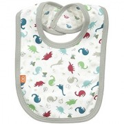 Magnificent Baby Baby-Boys Dino Expedition Reversible Bib Dino Explorer One Size