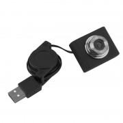 tiendatec CAMARA WEB USB 5MPX CABLE RETRACTABLE COMPATIBLE RASPBERRY PI