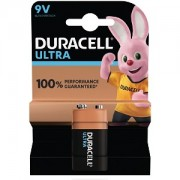 Duracell Ultra Power 9V Batteri (MX1604B1)