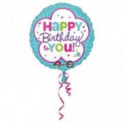 Balon folie Happy Birthday to You