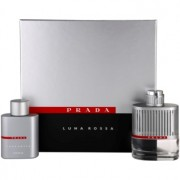 Prada Luna Rossa lote de regalo II. eau de toilette 100 ml + gel de ducha 100 ml