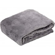 150x200 cm exkluzív magában mintás pléd - egyszemélyes ágytakaró - bézs