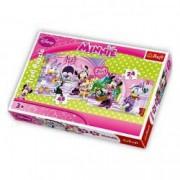 Puzzle Minnie 2 in 1 24 pcs 48 pcs - La salonul de infrumusetare