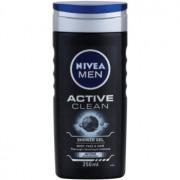 Nivea Men Active Clean gel de dus pentru față, corp și păr pentru barbati 250 ml