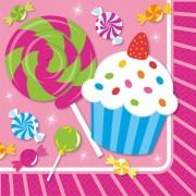 Muffin szalvéta 16 db-os, 24,5*24,5 cm
