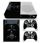 Xbox One S Skin Estampa Pegatina - Star Wars Negro