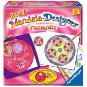 Set de creatie Mini Mandala romantic Arts & Crafts Ravensburger