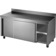 Stainless Cabinet 1200 W x 700 D with 150mm Splashback