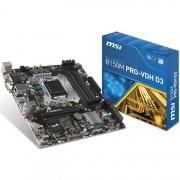 MB, MSI B250M PRO-VDH /Intel B250/ DDR4/ LGA1151