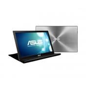 """ASUS MB168B 15.6"""" HD Black, Silver computer monitor"""