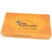 MUMBAI TATTOO KATANA NEEDLE WITHOUT NIPPLE 13M1 - Color Orange (Pack of 50)
