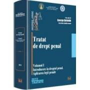 Tratat De Drept Penal Vol.1 Introducere In Dreptul Penal - George Antoniu