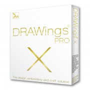 Software profesional de broderie DRAWings X PRO