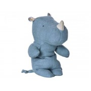Maileg Safari friends, rhino blue, small - taille 22 cm - de 0 à 36 mois