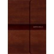 Rvr 1960 Biblia Compacta Letra Grande Marr n, S mil Piel Con Solapa Con Im n/B&h Espanol Editorial