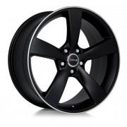 Avus Af10 10x21 5x112 Et18 66.5 Black Mate - Llanta De Aluminio