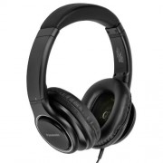 HEADPHONES, Panasonic RP-HD6ME-K, Hi Res Sound, Mic., Black