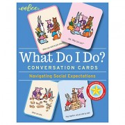 Eeboo What Do I Do Conversation Cards