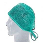 Vincal Cappellino chirurgico in TNT con elastico - Colore Verde - CF da 100 pz