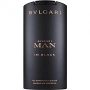 Bvlgari Perfumes masculinos Man in Black Shampoo & Shower Gel 200 ml