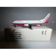 AIRCRAFT MODEL 81 AIR BERLIN BOEING B-737-461