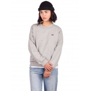 Levi's Standard Crew Sweater : smokestack heather - Size: Small