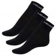 Head 3PACK ponožky HEAD černé (761011001 200) M