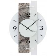 Ceas de perete AMS 9558 Wanduhr modern - Serie: AMS Design