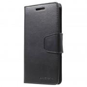Bolsa tipo Carteira Mercury Goospery Sonata Diary para Samsung Galaxy S6 Edge - Preto