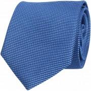 Krawatte Seide Royal Blau Motiv - Blau
