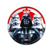 Vegaoo 8 Star Wars Final Battle Kartongtallrikar 23 cm One-size