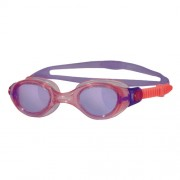 Zoggs Phantom Junior Goggles Suitable for Ages 6-14 Yrs (purple/pink)