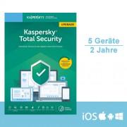 Kaspersky Lab Kaspersky Total Security 2019/2020 Upgrade, 5 Geräte - 2 Jahre, ESD, Download