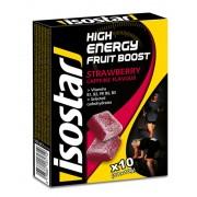 Isostar Fruit Boost Sportvoeding met basisprijs Strawberry 100 g geel/zwart 2018 Sportvoeding