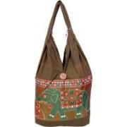 Womaniya Girls Green Shoulder Bag