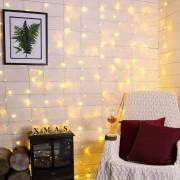 Karácsonyi beltéri fényfüggöny