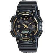Casio Youth-Combination Analog-Digital Black Dial Mens Watch-Aq-S810W-1A3Vdf