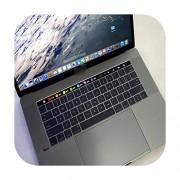 TOIT Funda de silicona con teclado del alfabeto inglés para MacBook Pro Retina de 13 pulgadas y 15 pulgadas con Touch ID y Touch Bar Best, Negro