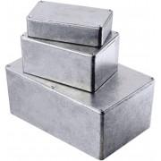 Carcasă de aluminiu turnată, ecranare EMC, IP65, 1590WG, 100 x 50 x 25 mm