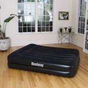 Bestway Nafukovacia posteľ Aeroluxe so zabudovanou pumpou, 152x203 cm, 67403