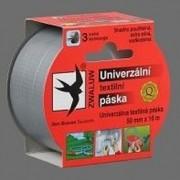 páska 38x50m šedá univerzální textilní
