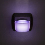 Phenom éjszakai jelzőfény érintőkapcsolóval lila