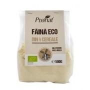 Faina din 4 Cereale Fara Gluten Bio 500gr Pronat