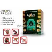Aparat anti rozatoare si insecte cu ultrasunete PR 220.6 Electronic